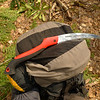 From Cherry Log Gap I fall down Trail 98 which is the North Fork Citico trail and pull out the wonderful Corona folding saw for some trailwork.