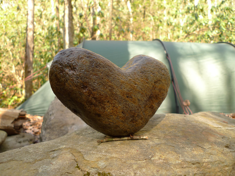 Another shot of beloved Heart Rock.