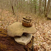 I make a hippie cairn on Sugar Mt to inspire others.