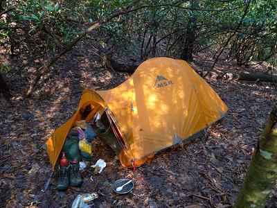 17 Days MSR Tent