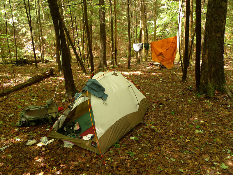 A better shot of Rice Camp Cove and the stout MSR Fury tent.