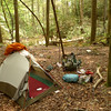 Another shot of my West Fork Camp and the MSR Fury tent.