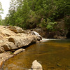 I throw the pack down on the rocks and savor the splendor of a Pisgah-like canyon replete with Swim Holes.