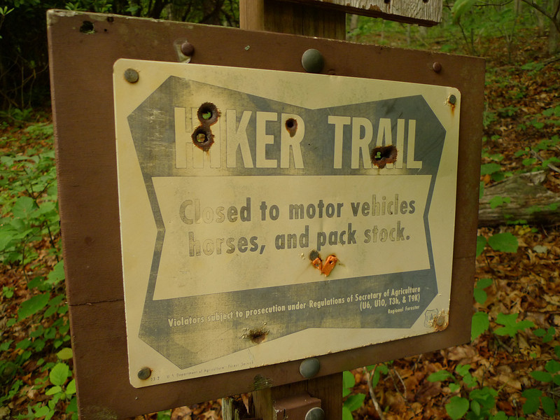 An old AT sign.