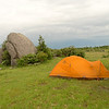 Here's a good ad for MSR tents---Beartooth Rock on Stone Mt in Mt Rogers.