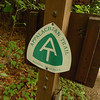 Before reaching the South Holston River crossing I run into these trail signs.