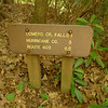 Near Dickey Gap I find this trailsign.
