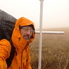 Check out my Arcteryx rain jacket, always a necessary item in the winter.