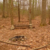 Someone knows about Flathead Camp cuz they built this little lean-back firepit chair.