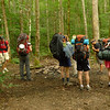 Backpacking kids from Wilderness Treks.