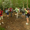 Wilderness Treks kids from NC at the Ike Branch junction.