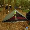 Choda's Lightheart Gear tent.