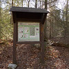 Yellow Stand Lead trail is next on the menu and it has this kiosk about a half mile up.