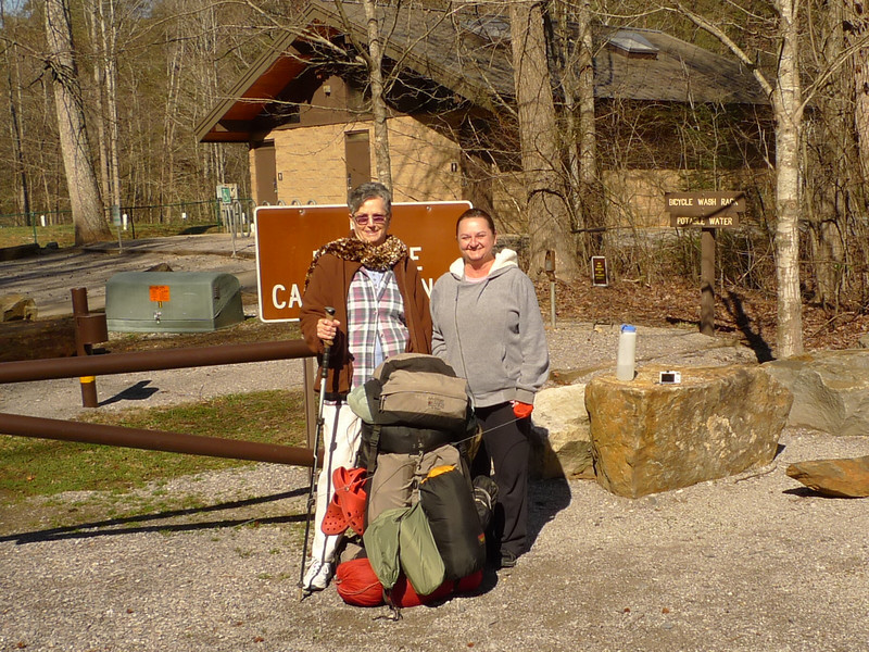 My 18 days in the Cohutta begins in the Thunder Rock campground and on the BMT when Little Mitten and her Mom drops me off with the giant pack.<br /> <br /> BACKPACKING<br /> THE<br /> COHUTTA<br /> WILDERNESS<br /> <br /> TRIP 142<br /> February 9-26  2013<br /> <br /> **  18 DAYS IN THE COHUTTA WILDERNESS<br /> <br /> **  WINDSTORM IN THE BIG FROG AT LOW GAP<br /> <br /> **  SHUNKA RETURNS<br /> <br /> **  AT THRUHIKER TREE BEARD AND DANNY ON FROG MOUNTAIN<br /> <br /> **  GOING PAST DALLY GAP ON THE BMT<br /> <br /> **  THREE MILES ON THE PINHOTI TRAIL<br /> <br /> **  ROADWALK FROM BUDDY COVE GAP TO 3 FORKS MOUNTAIN<br /> <br /> **  COLDEST NIGHT ON PANTHER TOP<br /> <br /> **  CROSSING A BUTT COLD JACKS RIVER<br /> <br /> **  TWO BACKPACKERS CROSS BEECH CREEK<br /> <br /> **  HELLISH WIND AND RAINSTORM IN LOW GAP AGAIN<br /> <br /> **  PATMAN COMES INTO THE BIG FROG<br /> <br /> **  WITH PATMAN ON BIG FROG MOUNTAIN<br /> <br /> **  SIX BACKPACKERS FROM KENNESAW COLLEGE<br /> <br /> **  BACKPACKING OFF FROG MT WITH THE HUNTSVILLE SIERRA CLUB<br /> <br /> <br /> TRAILS<br /> Thunder Rock 305/330/303<br /> **West Fork**<br /> Rough Creek West<br /> Big Frog<br /> **Low Gap**<br /> Big Frog<br /> **Frog Mt 4th Camp**<br /> Licklog Ridge<br /> **Double Spring Gap(2)**<br /> Hemp Top<br /> **Bear Branch/BMT/Jacks**<br /> BMT South to Watson Gap<br /> BMT South to Pinhoti Jct<br /> Pinhoti Trail<br /> **Pinhoti Camp**<br /> FS 64 Roadwalk<br /> 3 Forks Mountain<br /> East Cowpen<br /> **Panther Top**<br /> East Cowpen<br /> Hickory Ridge<br /> Jacks River and Falls<br /> **Jacks Beach Camp**<br /> Beech Bottom<br /> **Beech Camp**<br /> Beech Bottom<br /> FS 62<br /> Chestnut Mt<br /> **Nut Jct**<br /> Wolf Ridge<br /> Grassy Gap<br /> Big Creek<br /> **Big Creek Bottoms**<br /> Yellow Stand Lead<br /> **Low Gap(2)**<br /> Big Frog<br /> **Big Frog Mt**<br /> Big Frog<br /> Fork Ridge<br /> Rough Creek<br /> West Fork<br /> **West Fork Camp**<br /> West Fork<br /> Tra