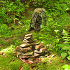I redo the Hippie cairn at the NF/149 jct.