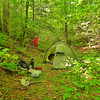 The Hilleberg Keron tent in Iron Camp on the South Fork.