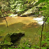 Johnny's Hole, a favorite swimhole before the first North Fork crossing.