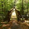 Here is the North Fork footbridge.