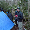 "David is this group's leader and he's set up on Bob Creek in the Wedge, what they call ""stratton meadows""."