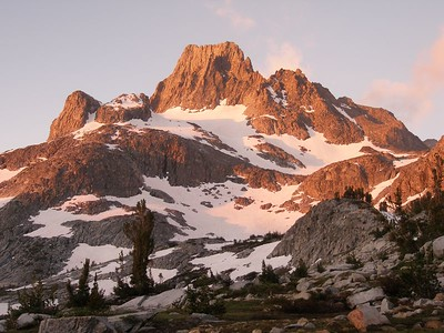 Banner Peak looking good in the morning light