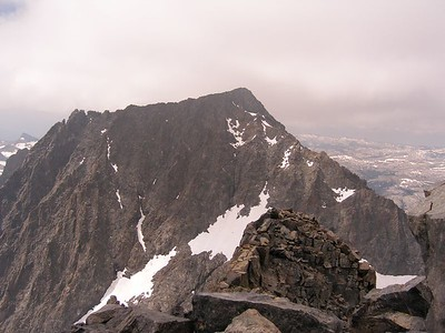 Looking across at Ritter