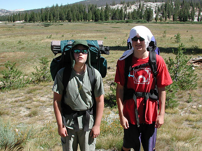 2004-07 Backpack - Cathedral-Echo Lakes-Sierras
