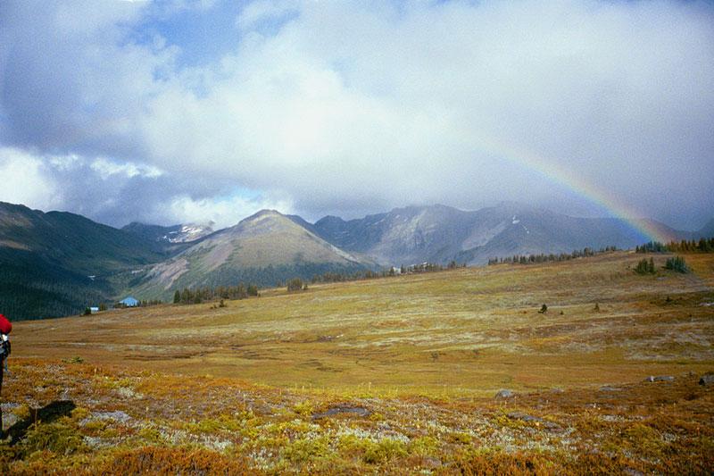 20 - Rainbow on Bald Mt