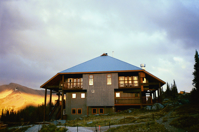37 - Purcell Lodge sunset
