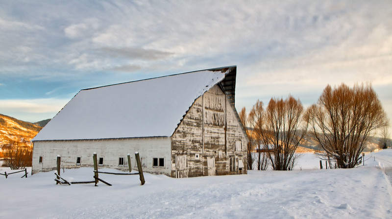 River Road Barn ~ Steamboat Springs ~ Colorado