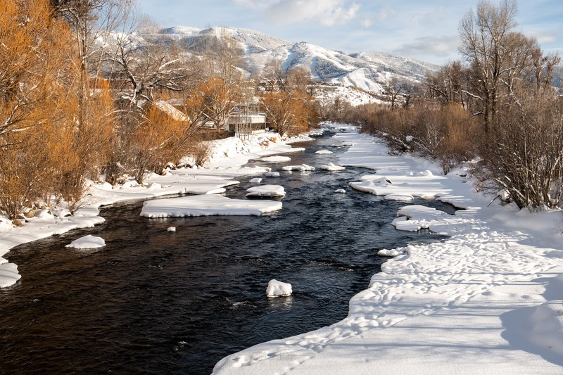 Yampa River View ~ Steamboat Springs ~ Colorado