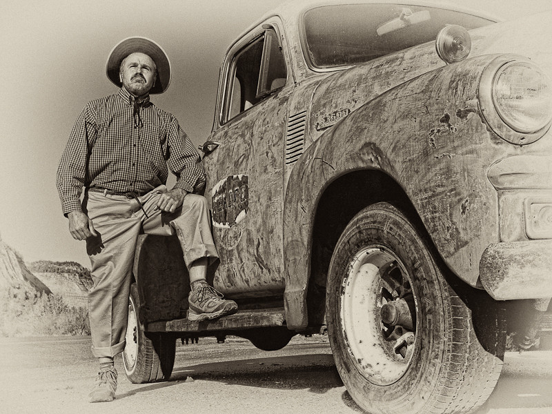 "40 some years later...and now I look like El Guapo with Fred Sanford's truck...<br /> <br /> Taken somewhere in Utah, this image was created by Frank Smith; if you'd like to see more of Frank's amazing work, please check out his blog:  <br /> <br /> <a href=""http://franktsmith.wordpress.com/"">http://franktsmith.wordpress.com/</a>"