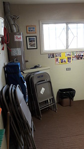 Storage area cleaned up