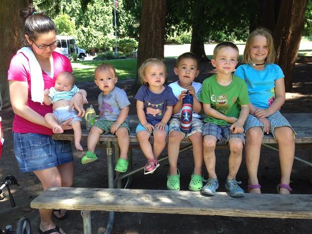 UW alumni babies: Cameron, Henry, Maggie, Jack, Will, and Amelia