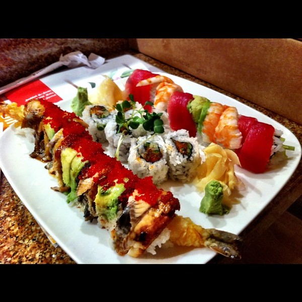 Love me some good sushi.