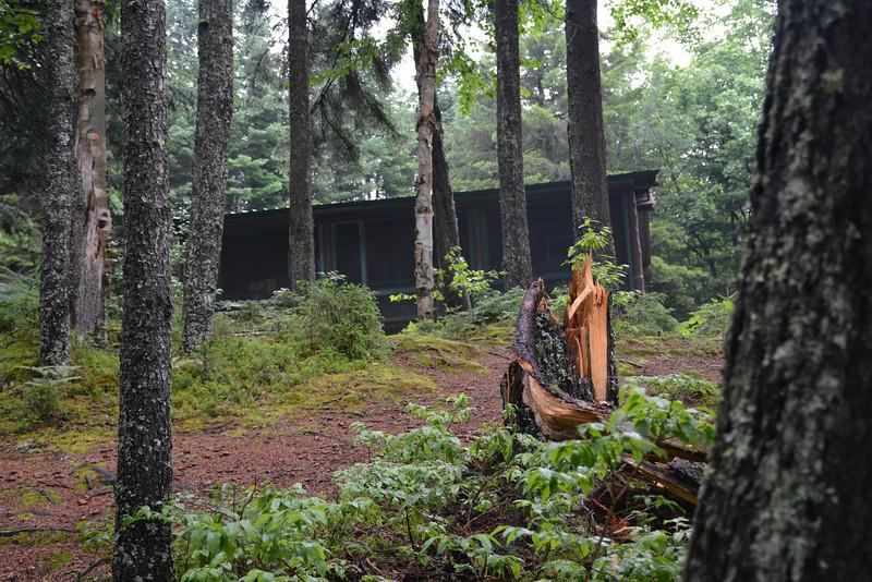 Hellgate Gorge Cabin, Dartmouth College Grant, New Hampshire