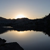 Sunrise Over a Calm Mountain Lake in the Emigrant Wilderness