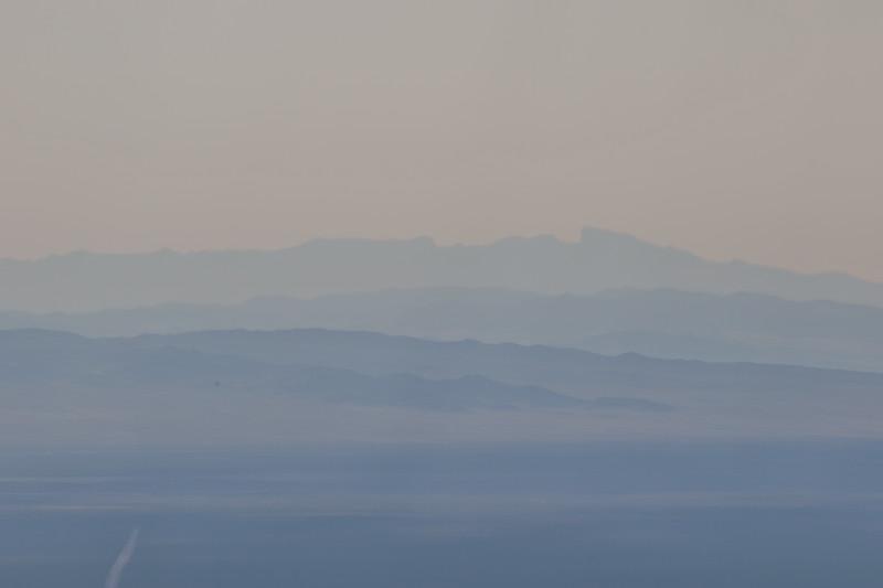 Hazy Mountain Horizon