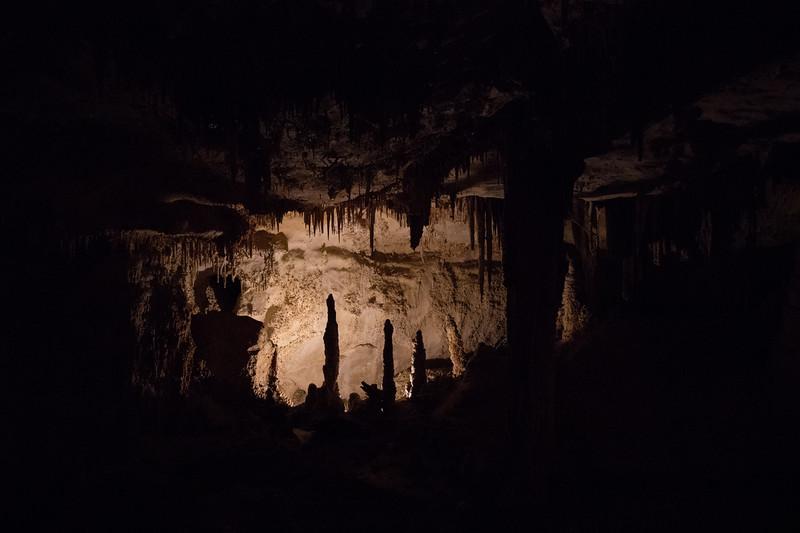 Lehman Caves Space Lit From Below