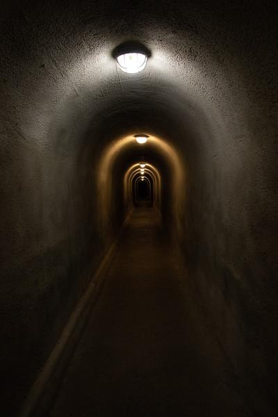 Lehman Caves Man Made Passageway with Lights
