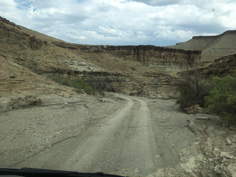Dry Wash Canyon Road to Put-In