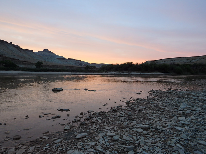 Evening on the Green River Utah