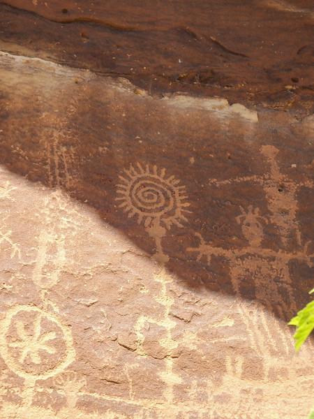 Flat Canyon Petroglyphs