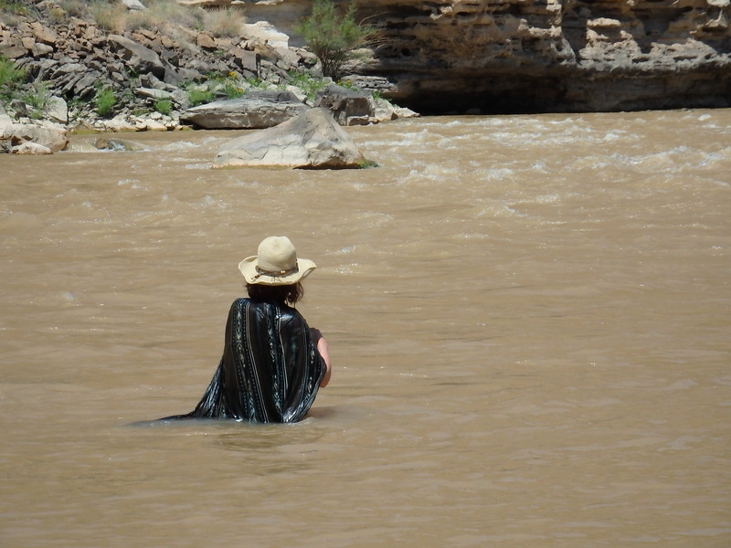 Mary in the River