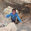 Super Mada in a Hole in a Rock