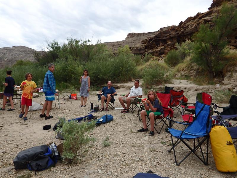 Camp at Mile 81.2
