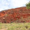 Deep Reddish Orange Hill