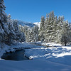 Winter Snow Along the Upper Truckee River