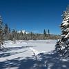 Snowshoe Tracks to Lake Baron