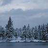 Winter on Mountain Lake