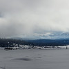 Snow Covered Hope Valley Panorama with Mountains